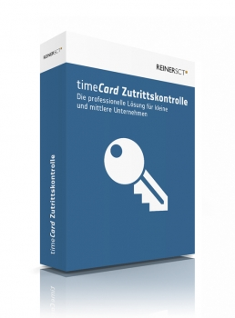 timeCard Zutrittskontrolle Version 6 - Grundversion inkl. 5 MA-Lizenzen