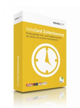 timeCard Zeiterfassung Version 6 - Grundversion inkl. 5 MA-Lizenzen