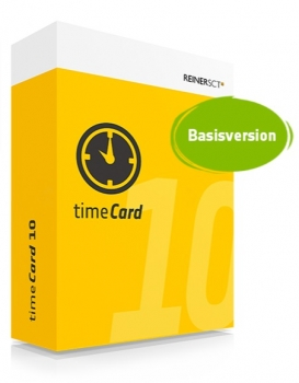 timeCard v10 - Basisversion (ohne MA-Lizenz)