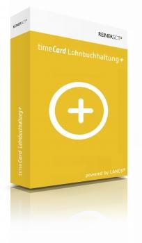 timeCard Lohnbuchhaltung+ Basis 5 Mitarbeiter