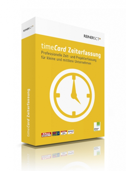 timeCard Zeiterfassung Software